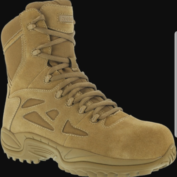 f44d617f383 Men's Reebok Work Tactical Military SteelToe Boots